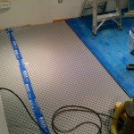 Post mold removal - rebuild process - Subfloor